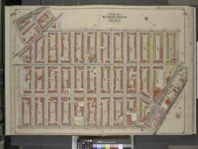 Brooklyn, Vol. 3, Double Page Plate No. 2; Part of    Wards 13 & 19, Section 8; [Map bounded by Broadway, Roooney St., Marcy Ave.,     Lorimer St., Flushing Ave., Wallabout St., Wythe Ave., Taylor St., Lee Ave.,     Division Ave., Havemeyer St.]