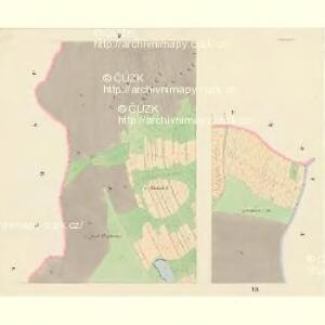 Koiakowitz - c3254-1-002 - Kaiserpflichtexemplar der Landkarten des stabilen Katasters