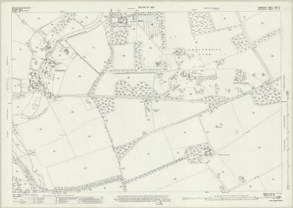Hampshire and Isle of Wight XXII.15 (includes: Amport; Cholderton; Newton Toney; Quarley; Thruxton) - 25 Inch Map