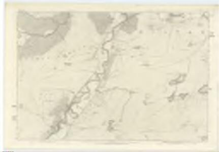 Inverness-shire (Mainland), Sheet XVII - OS 6 Inch map