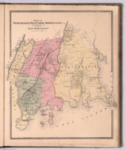 Plans of Westchester, West Farms, Morrisania, Westchester County and Part of New York County. New York.
