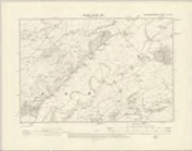 Montgomeryshire XV.NW - OS Six-Inch Map