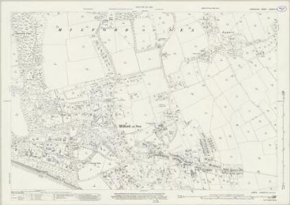 Hampshire and Isle of Wight LXXXVIII.9 (includes: Lymington) - 25 Inch Map