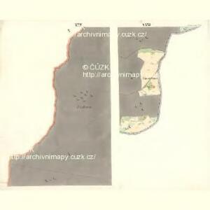 Ostrawitz - m2189-1-022 - Kaiserpflichtexemplar der Landkarten des stabilen Katasters