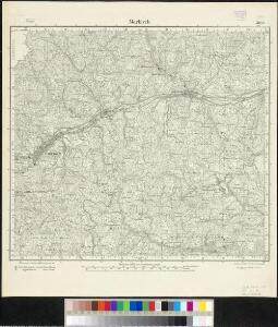 Meßtischblatt 3644 : Markirch, 1886