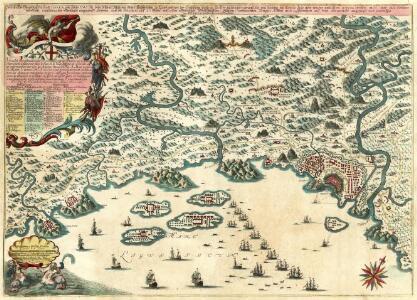 Wahrhaffter Grund-Riß der Stadt Genua