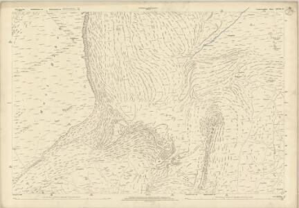 Caernarvonshire XXVII.12 (includes: Beddgelert; Dolbenmaen) - 25 Inch Map