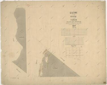 Katastrální mapa obce Kaznějov WC-VIII-18 ag