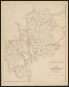 Map of the country between Monterey, Tenn. & Corinth, Miss. : showing the lines of entrenchments made & the routes followed by the U.S. forces under the command of Maj. Genl. Halleck, U.S. Army, in their advance upon Corinth in May 1862