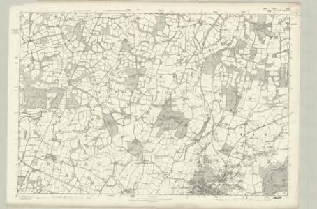 Surrey XLVII - OS Six-Inch Map