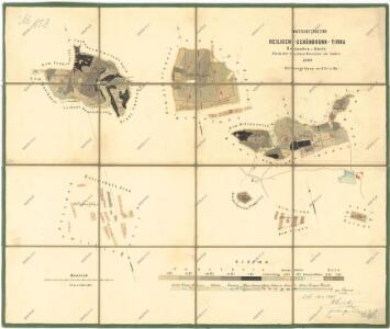 Porostní mapa lesního hospodářského celku Svatá-Studánka-Trnová
