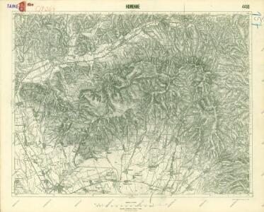 III. vojenské mapování 4468
