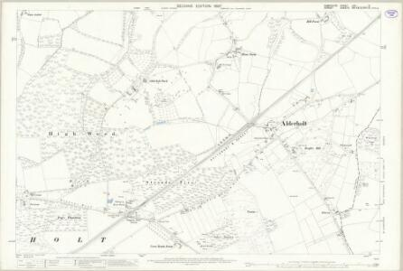 Hampshire and Isle of Wight LXII.6 (includes: Alderholt; Fordingbridge) - 25 Inch Map