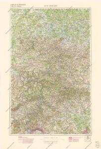 Generální mapa Protektorátu Čechy a Morava