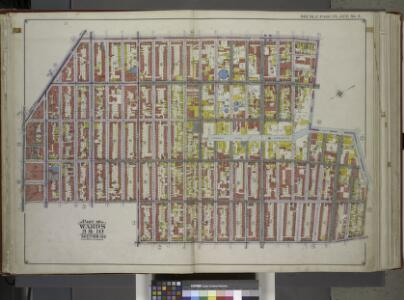 Brooklyn, Vol. 1, Double Page Plate No. 3; Part of Wards 3 & 10, Section 1 & 2; [Map bounded by 4th Ave., 1st St., Lateral Canal, Cowanus Canal, 5th St.; Including Smith St., Bergen St., Hoyt St., Fulton St., Flatbush Ave.] / by and under the directio...