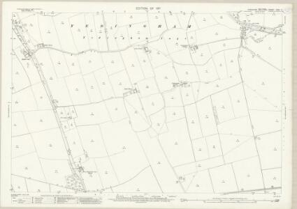 Yorkshire CVIII.7 (includes: Heslerton; Snainton; Yedingham) - 25 Inch Map