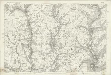 Monmouthshire XXI - OS Six-Inch Map