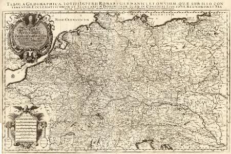 Das Teutsche Keiserthum samt allen darzu gehörigen Chur- und Fürstenthümen Ertz- und Bistumen, Grav- und Herrschaften, auch andern theils daran gräntzenden Ländern und Statten