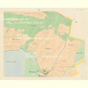 Plastowitz - c5816-1-004 - Kaiserpflichtexemplar der Landkarten des stabilen Katasters