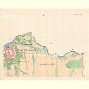 Wall.Meseritsch (Wal.Medřič) - m3264-1-002 - Kaiserpflichtexemplar der Landkarten des stabilen Katasters