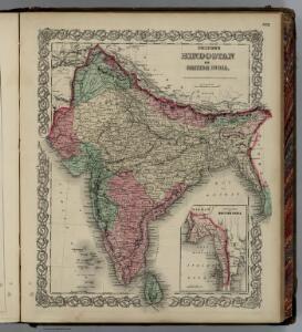 Hindoostan or British India.