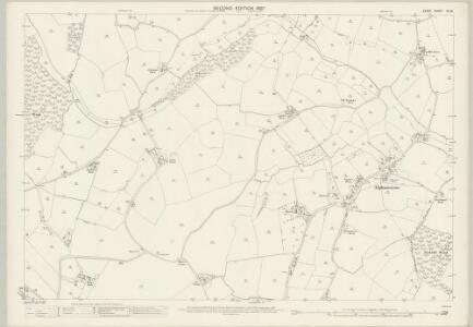 Essex (1st Ed/Rev 1862-96) XII.15 (includes: Alphamstone; Twinstead) - 25 Inch Map