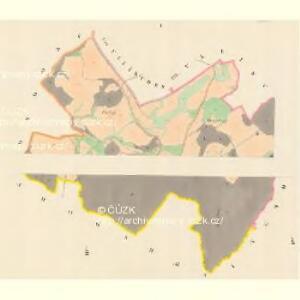 Penke (Benkow) - m0050-1-001 - Kaiserpflichtexemplar der Landkarten des stabilen Katasters