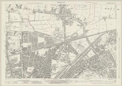 Lancashire CIX.13 (includes: Poulton With Fearnhead; Warrington) - 25 Inch Map