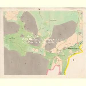 Sobieschitz (Soběssicze) - c7121-1-006 - Kaiserpflichtexemplar der Landkarten des stabilen Katasters