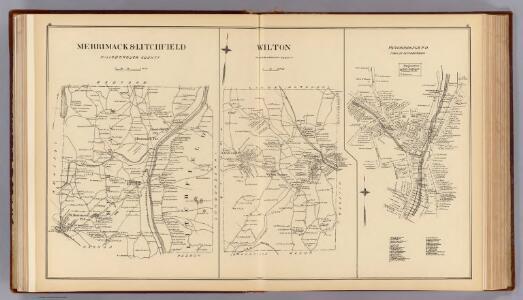 Merrimack, Litchfield, Wilton, Peterborough P.O.