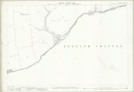 Dorset LIX.3 (includes: Langton Matravers; Worth Matravers) - 25 Inch Map