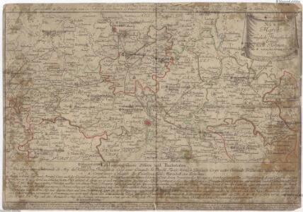 March der königlich-preussischen Armée nach Böhmen in 4. verschiedenen Corps 1757