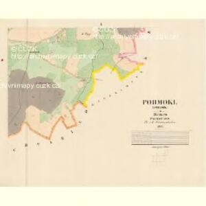 Podmokl (Podmok) - c5911-1-004 - Kaiserpflichtexemplar der Landkarten des stabilen Katasters