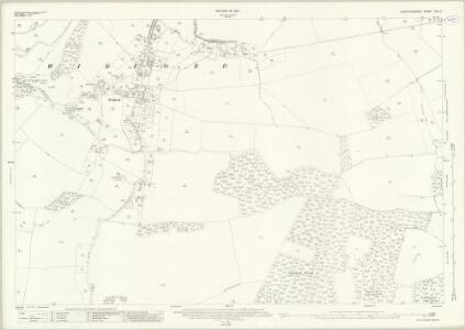 Hertfordshire XXX.7 (includes: Eastwick; High Wych; Hunsdon; Much Hadham; Ware Rural; Widford) - 25 Inch Map