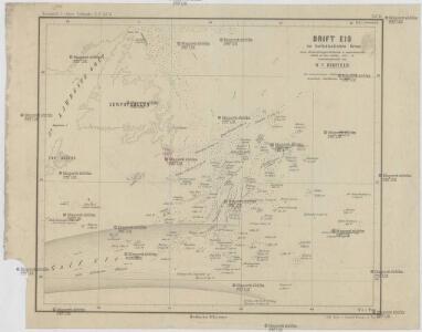 Drift Eis im Nordatlantischen Ocean