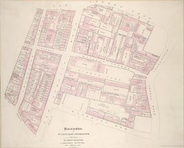 Plan of an Estate in ST. LEONARDS, SHOREDITCH