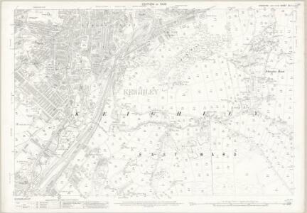 Yorkshire CC.4 (includes: Bingley; Keighley) - 25 Inch Map