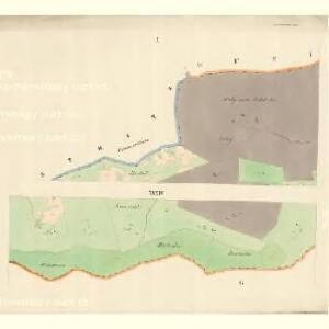 Neu Hrosenkau (Nowi Heasenkow) - m2073-1-001 - Kaiserpflichtexemplar der Landkarten des stabilen Katasters