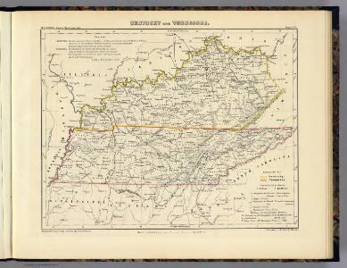 Kentucky und Tennessee.