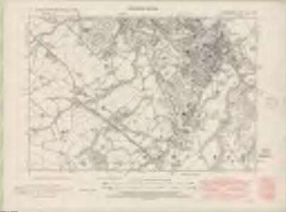 Lanarkshire Sheet XVII.NE - OS 6 Inch map