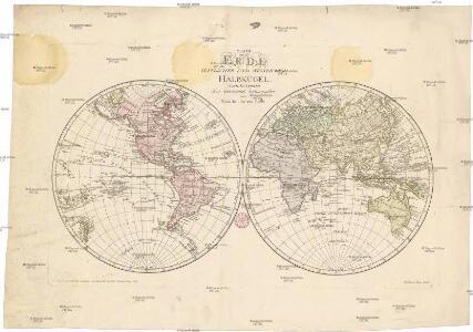 Karte von der Erde