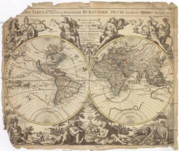MAPPE MONDE ou Description DU GLOBE Terrestre & Aquatique