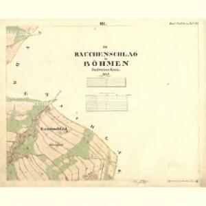 Rauchenschlag - c4568-3-003 - Kaiserpflichtexemplar der Landkarten des stabilen Katasters