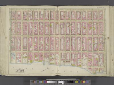 Manhattan, Double Page Plate No. 21 [Map bounded by Lexington Ave., E. 57th St., East River, E. 40th St.]