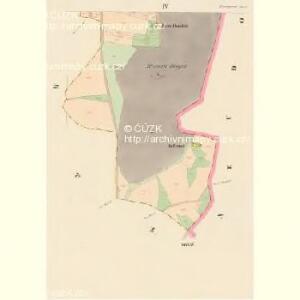 Braunpusch (Praporzisst) - c6083-1-004 - Kaiserpflichtexemplar der Landkarten des stabilen Katasters