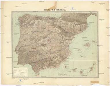 Mapa de Espana