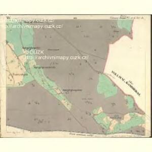 Vollmau Unter - c1279-1-015 - Kaiserpflichtexemplar der Landkarten des stabilen Katasters
