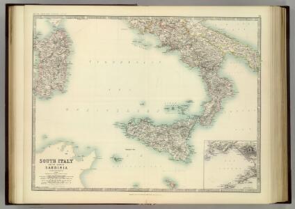 South Italy and the Island of Sardinia.