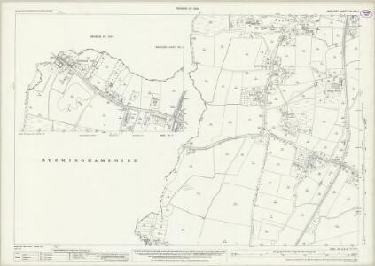 Middlesex XIX.6 & 2 (includes: Horton; Iver; Slough; Stanwell) - 25 Inch Map