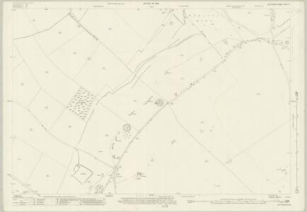 Wiltshire XXII.11 (includes: Broad Hinton; Ogbourne St Andrew; Preshute; Winterbourne Bassett; Wroughton) - 25 Inch Map